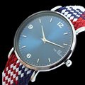 Perlon relógios X2 O DUODÉCIMO dos homens marca de moda de luxo Relógios De Pulso 2017 new arrival relógio de quartzo relogio masculino