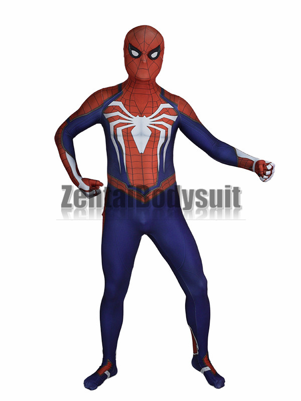 Insomniac Spiderman Costume 3D print Shade spandex Insomniac Spider-man Costumes Zentai Halloween Party Costume