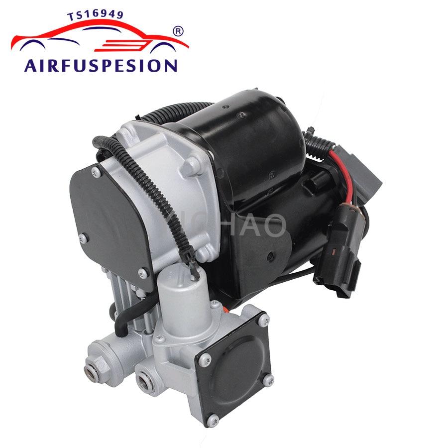 For Range Rover Sport LR3 LR4 Discovery 3 Air Suspension Compressor Pump RQG500090 LR023964 LR010376 LR011837