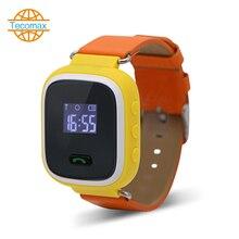 Kinder Smart Uhr Junge Mädchen Armbanduhr GSM GPRS GPS Locator Tracker Smartwatch Kindersicherung mit pas-knopf notruf