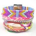 2016 Bohemia Summer IPANEME Bracelet woman Beach Brazilian Pulseira Bracelet Ipanema Magnetized boho bracalets Glamour Jewelry