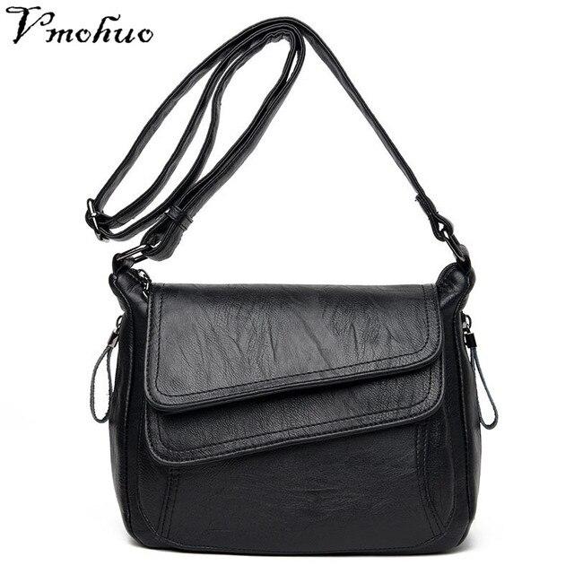 VMOHUO Luxury Designer Women Messenger Bags Brand Leather Female Shoulder Handbag Crossbody Bags For Women Briefcase Sac Femme