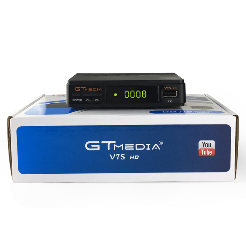 Récepteur Satellite Freesat V7S HD 1080 P DVB-S2 prise en charge HD Ccam powervu youpron boîtier décodeur puissance vu VS FREESAT V7