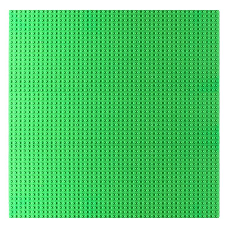 48*48 Baseplate Large Square Compatible LegoINGlys Plastic Floors Bricks for Kids Dots Base Plates Technic Building Blocks DIY big bricks building blocks base plate 51 25 5cm 32 16 dots baseplate diy bricks toy compatible with major brand blocks