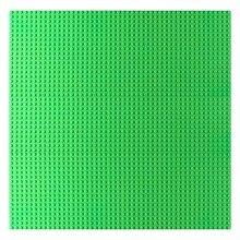 48*48 опорная плита большой площади Совместимость LegoINGlys пластик основы для кубиков для детей горошек база таблички технологические Строительные блоки DIY