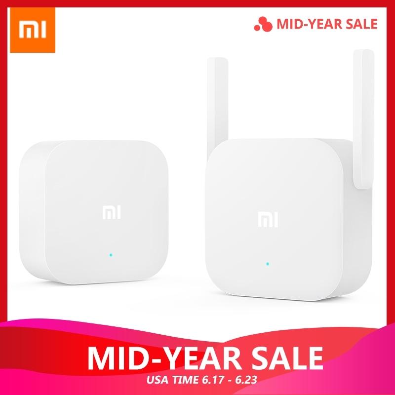 Original Xiao mi puissance électrique chat Wifi répéteur 2.4G 300 Mbps sans fil gamme Extender routeur Point d'accès mi Signal amplificateur
