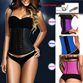 60pcs/lot Bodices and Corsets Waist Trainer Latex Modeling Girdle Female Slimming Corset Sexy Bustier Big Size Corsage Bodysuit