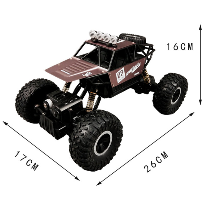 Electric RC Car 1/16 2.4Ghz 4WD Remote Control Car High Speed Off Road Radio Racing Car RC Monster Truck Toys For Kids Children high speed 4wd 1 24 40km h 2 4g 5 monster trucks with remote control off road motorcycle outdoor rc car for children toys gift