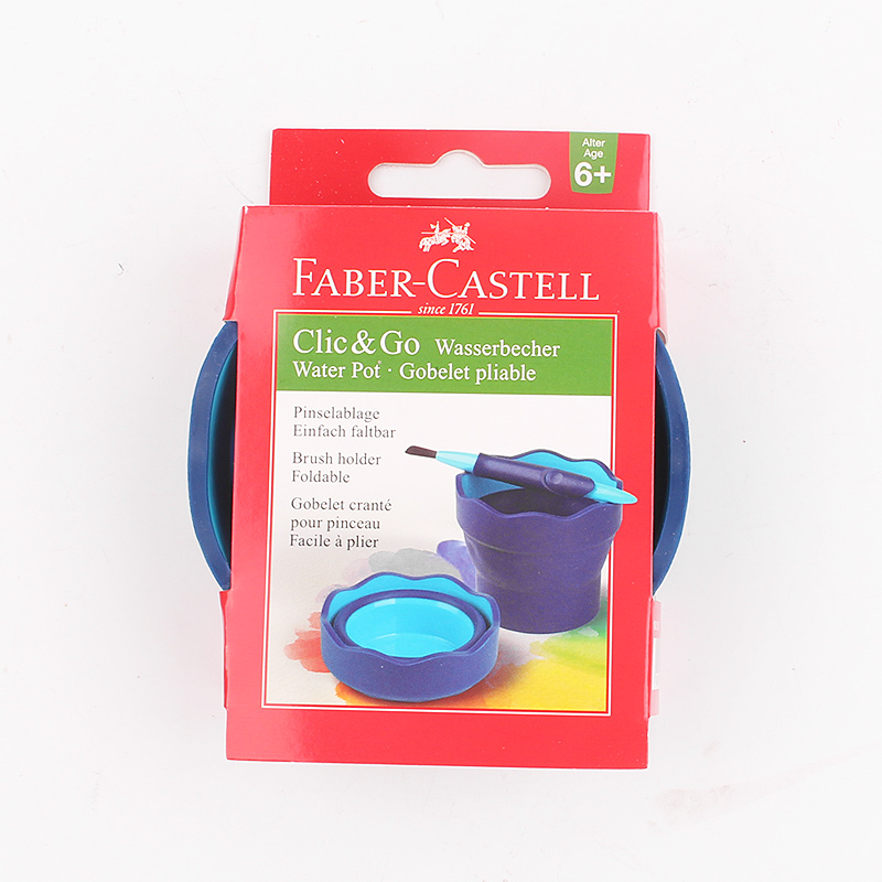Ensemble de crayons de couleur soluble dans l'eau FABER CASTELL 48 couleurs ensemble de stylos de peinture de combinaison de cadeau d'étudiant d'art professionnel - 3