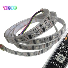 1m/3m/5m WS2801 32LEDs/M RGB IP67 magic DC5V Individually Addressable Full Color Chip LED Strip