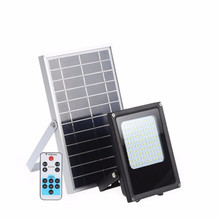 Remote Control 20W Solar Flooded Led Lamp 120 LEDs solar powered Lamp White Outdoor Solar LED Spotlights Garden Lamp
