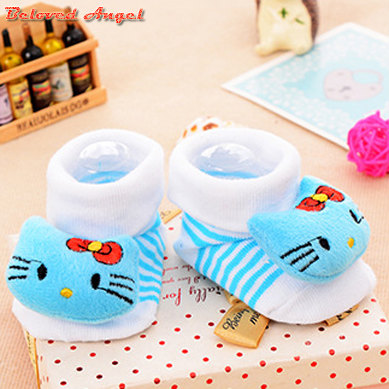2019 New Born Baby Socks Cotton Anti Slip Sport Children Socks For Girls Boys Unisex Toddler 0-18 Month Kids Socks Candy Color