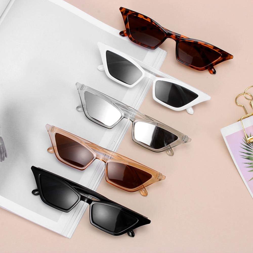 Occhiali da donna di alta qualità occhiali da sole con montatura piccola Cat Eye occhiali da sole UV400 occhiali da sole occhiali da strada occhiali da donna 2