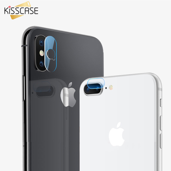 KISSCASE Camera Len Screen Protector For iPhone X XS PlusTransparent Back Lens Cover Tempered Glass Film For iPhone XS 9 2018 iPhone XR