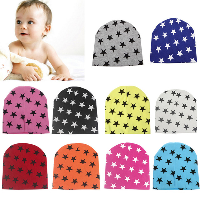Enfants Bébé Coton Bonnet Doux Fille Garçon En Tricot Chapeau Enfant En Bas  Âge Infantile Enfant 0990478e690
