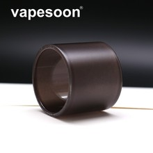 3pcs vapesoon Atomizer Glass Color Change Replacement Tube Black Yellow Blue for Vaporesso Kit Revenger NRG Tank 5ml Atomizer
