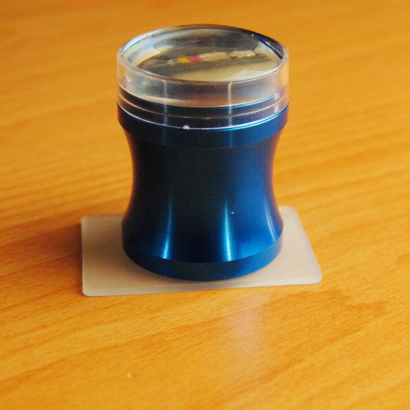 Жаңа 3.8cm Металл Blue Nail Art Stamper XL Clear Jelly - Маникюр - фото 5