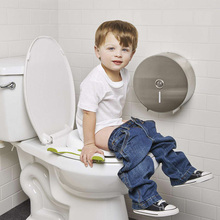 2 in 1 Outdoor Kids Potty Chair Foldable Baby Potty Seat Pad