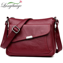 Fashion Luxury Handbags Women Leather Bags Designer Crossbody Bags For Women 2019 Shoulder Bag Female Purses And Handbags Bolsa cheap Genuine Leather Polyester Shoulder Bags Single LANYIBAIGE Shoulder Crossbody Bags Interior Compartment Interior Zipper Pocket