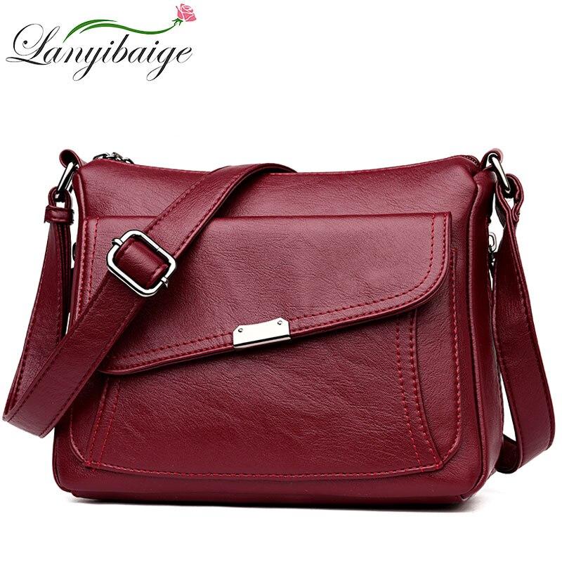 Fashion Luxury Handbags Women Leather Bags Designer Crossbody Bags For Women 2019 Shoulder Bag Female Purses And Handbags Bolsa
