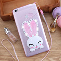 Luxury Crystal Diamond Rabbit Ear kickstand Soft TPU Case For Xiaomi 3 4 4S 4C 5 Max For Redmi 2 3S Note Note 2 Note 2 Pro