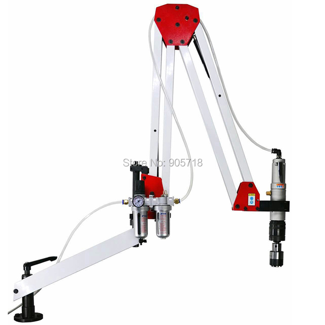 High Quality AT-024-L M5-M24 Automatic Pneumatic Tapping Machine Air Tapper Tool with Work Reach 1900MM