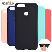FLYKYLIN For Fundas Huawei Honor 7X 7 X case Ultra thin Matte Silicone Soft tpu Cover 8X 8 Phone cover