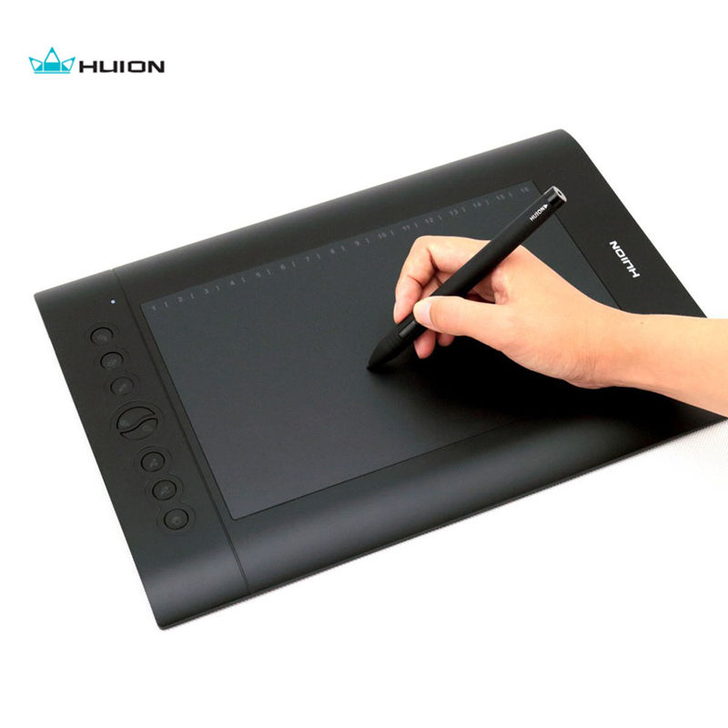 Huion 10 * 6.25 Pulgadas Tableta Gráfica USB H610 PRO Pad Tablero - Periféricos de la computadora - foto 6
