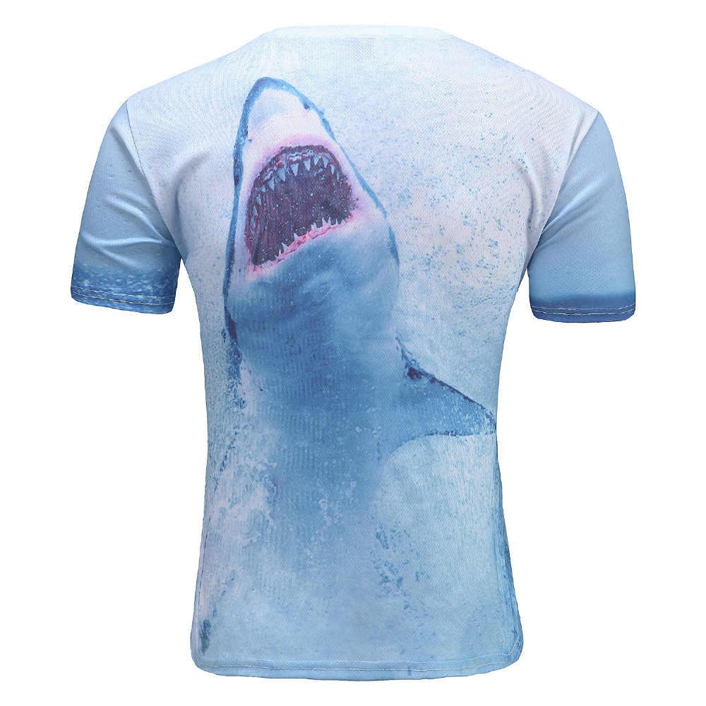 Nouveau mode hommes T-shirt impression 3d étoile Jordan Dunk requin belle t-shirts d'été hauts T Shirt hauts et t-shirts vente en gros livraison directe