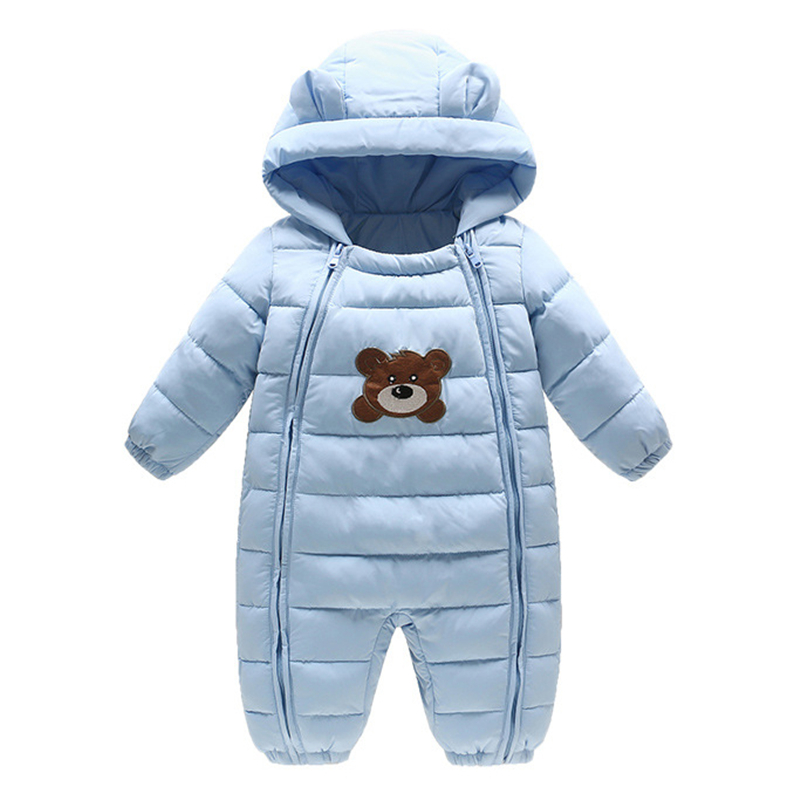 Toddler Baby Rompers Winter Baby Boy Clothes Down Parkas Baby Girl Clothing Newborn Baby Clothes Roupas Bebe Infant Jumpsuits
