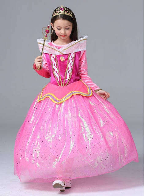 image  sc 1 st  Aliexpress & Online Shop Spring Princess Sleeping Beauty dresses for Fat girls ...