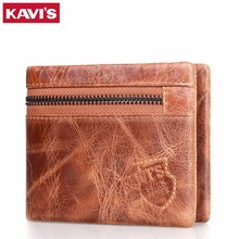 Real Cow Leather Men Wallet Brand Luxury Design Short Small Purse Man with ID Card Holder Coin Zip Clutch Money Bag Dollar Price