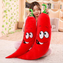 Creative Simulation Red Pepper Plush Toys Stuffed Vegetables Doll Toy Soft Plush Pillow Children & Adults Gifts children s toys gifts plush red panda doll stuffed animal toy simulation wild