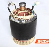 Fast Shipping 6 5kW 380V 50Hz Three Phase Rotor Stator Gasoline Generator Diesel Generator Suit For
