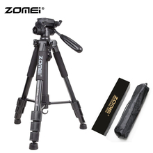ZoMei Black Q111 Lightweight Professional Tripod Portable Travel Camera Stand + Pan Head Carry Bag for SLR DSLR Digital