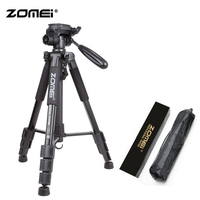 ZoMei Black Q111 Lightweight Professional Tripod Portable Travel Camera Stand + Pan Head + Carry Bag for SLR DSLR Digital Camera