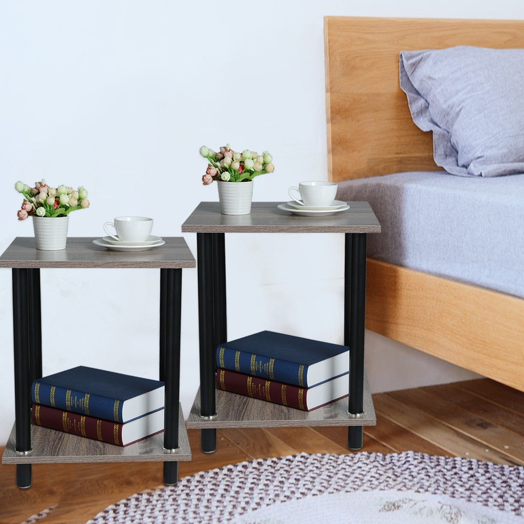 Kitchen Accessories Side Bedside Cabinet Bedroom Storage Cabinet Storage Cabinet End Table Set Of 2 Kitchen Tools