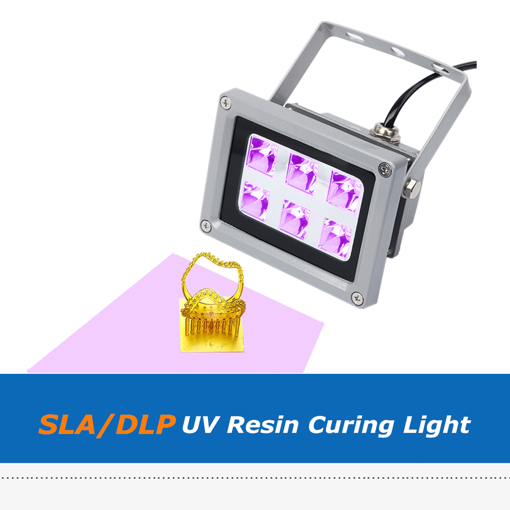 US $35 0 |SLA DLP 3D Printer Parts 60W UV Resin Curing Light for SLA/DLP  Solidify Photosensitive 405nm UV Resin-in 3D Printer Parts & Accessories  from