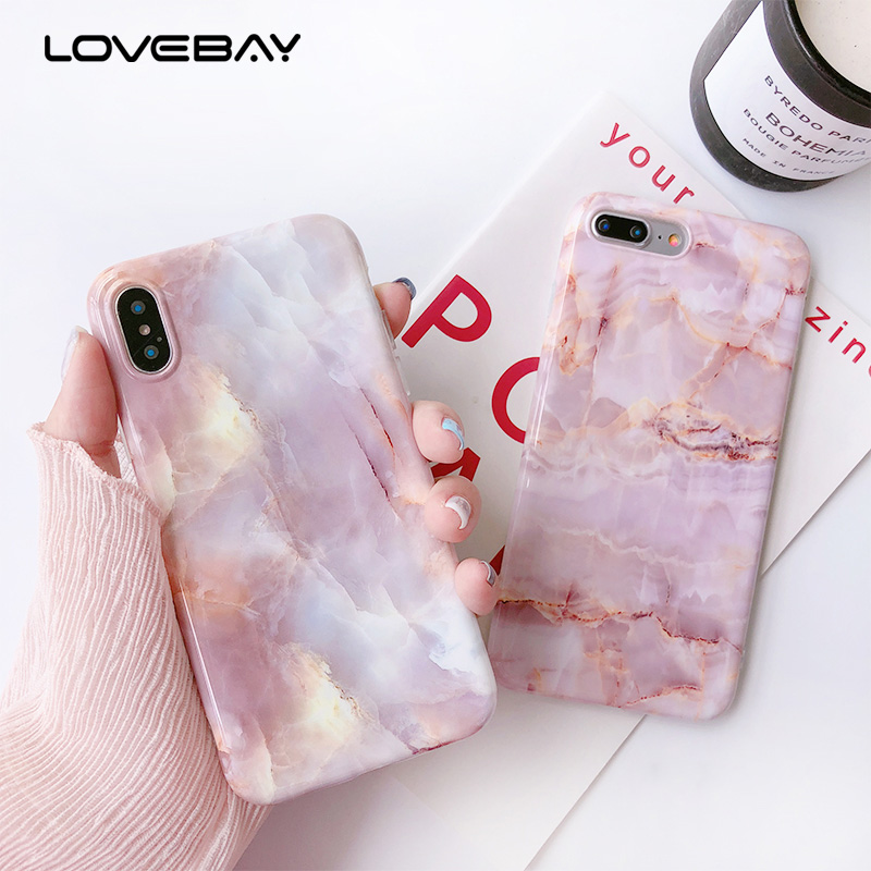 d0f7e79b9f Lovebay-Full-Cover-For-iPhone-8-7-Plus-Case-Granite-Marble-Pattern -Glossy-Soft-TPU-Silicone.jpg