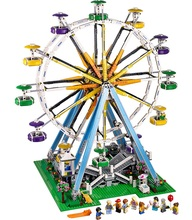 Toys CHINA BRAND L012 self-locking bricks Compatible with Lego Creator Expert 10247 Ferris Wheel no original box