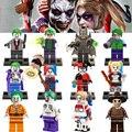 Sola venta marvel superhéroes de dc comando suicida ladrillos diy bloques de construcción de figuras de joker harley quinn batman para niños juguetes