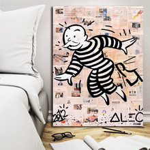 Monopolyingly Get Out Of Jail Free Wall Art Canvas Posters Prints Painting Pictures For Bedroom Modern Home Decor Framework