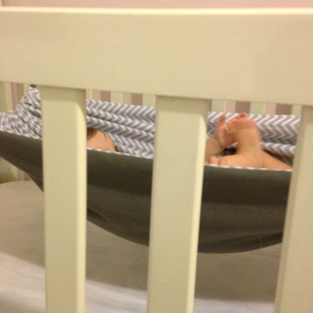 Baby Detachable Crib Hammock Newborn Baby Portable Sleeping Bed Indoor Outdoor Swing Hammock NSV775