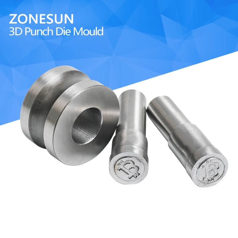 ZONESUN 1PC Custom Pill press die/3D Punch die/Die Press Or Tablet Press Pill Press Die Pill Maker For TDP Machine multi v press brake die bending die