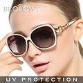 BEOLOWT Marca Aleación de gafas de Sol de Conducción Gafas de Sol de protección UV400 de las mujeres para las mujeres con la Caja de 5 Colores BL444