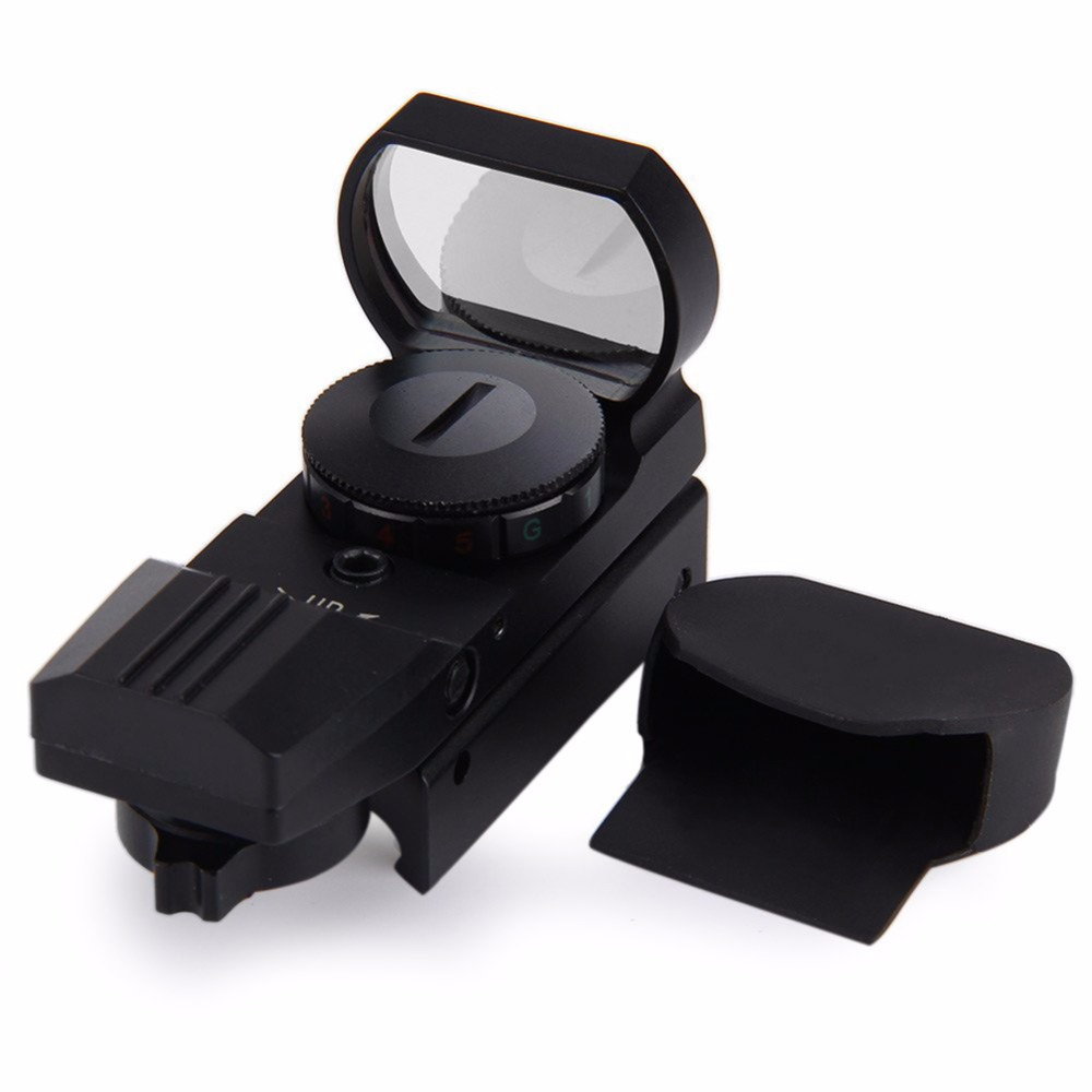 11mm/20mm Rail Riflescope Hunting Airsoft Optics Scope Holographic Red Dot Sight Reflex 4 Reticle Tactical Gun Accessories H5 6 24x50 aoeg riflescope hunting optics scope adjustable light reticle tactical scope with 20 11mm rails hunting sightfinder h5
