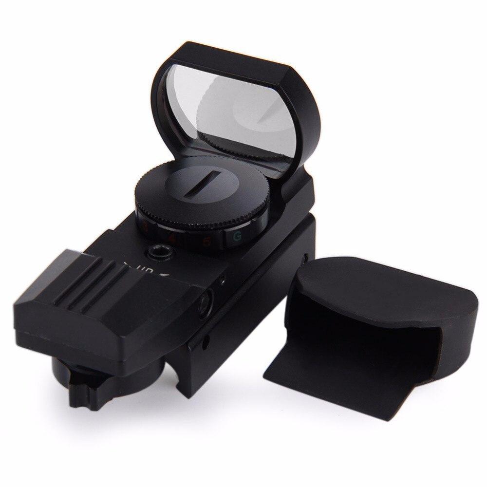 11mm/20mm Schiene Zielfernrohr Jagd Airsoft Optics Scope Holographic Red Dot Sight Reflex 4 Absehen Tactical Gun zubehör H5