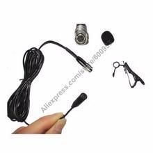 MKE2 Design MICWL Lavalier Lapel Black Condenser Mic Microphone for Audio Technica Wireless Transmitter Hirose 4-Pin Plug cary audio design dmc 600 black