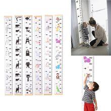 Детская диаграмма роста, холст, настенный, измерительные линейки для детей, для мальчиков и девочек, украшение комнаты, детская комната, съемный рост и рост