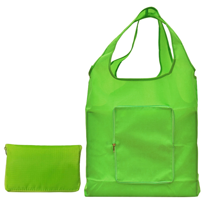 Grocery Shoulder Bags For Female Fold Zipped Pouch Shape Ping School Tote Handbags Women Las Special Purpose Bag